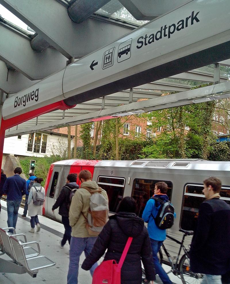 U-Bahnhof Borgweg