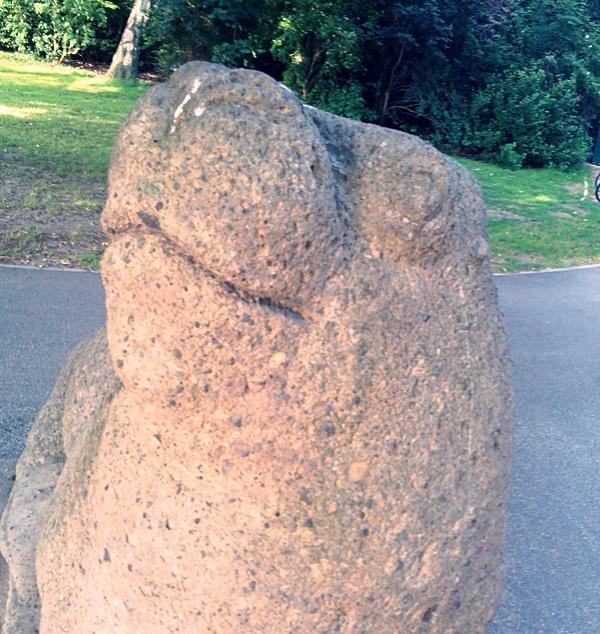 walross skulptur