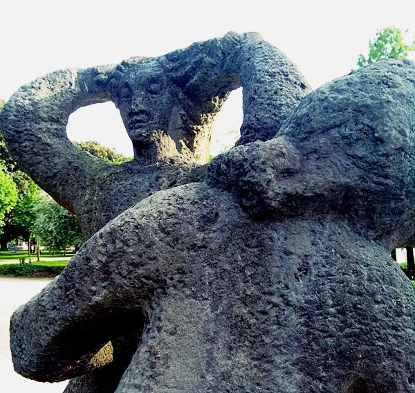 Kunst im Stadtpark.