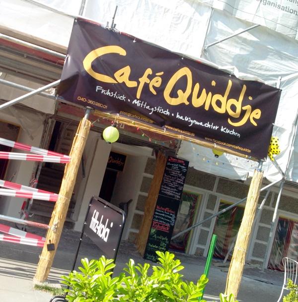 quiddje und umzu unweit Post und Marktplatz